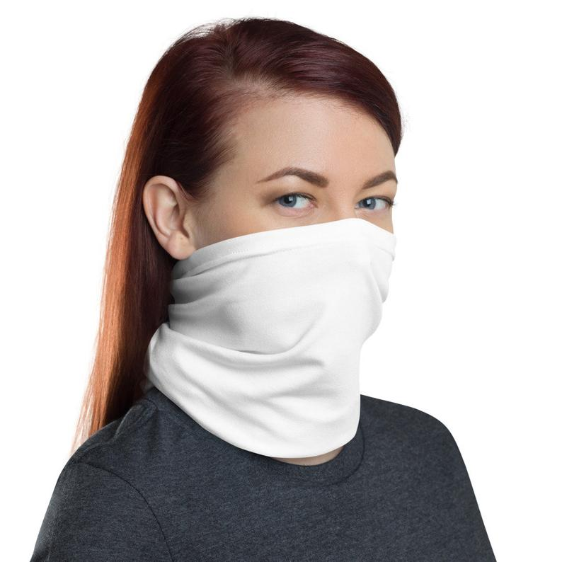 Plain White Gaiter